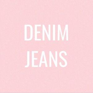 DENIM JEANS - Skinny, Crop, Boot Cut